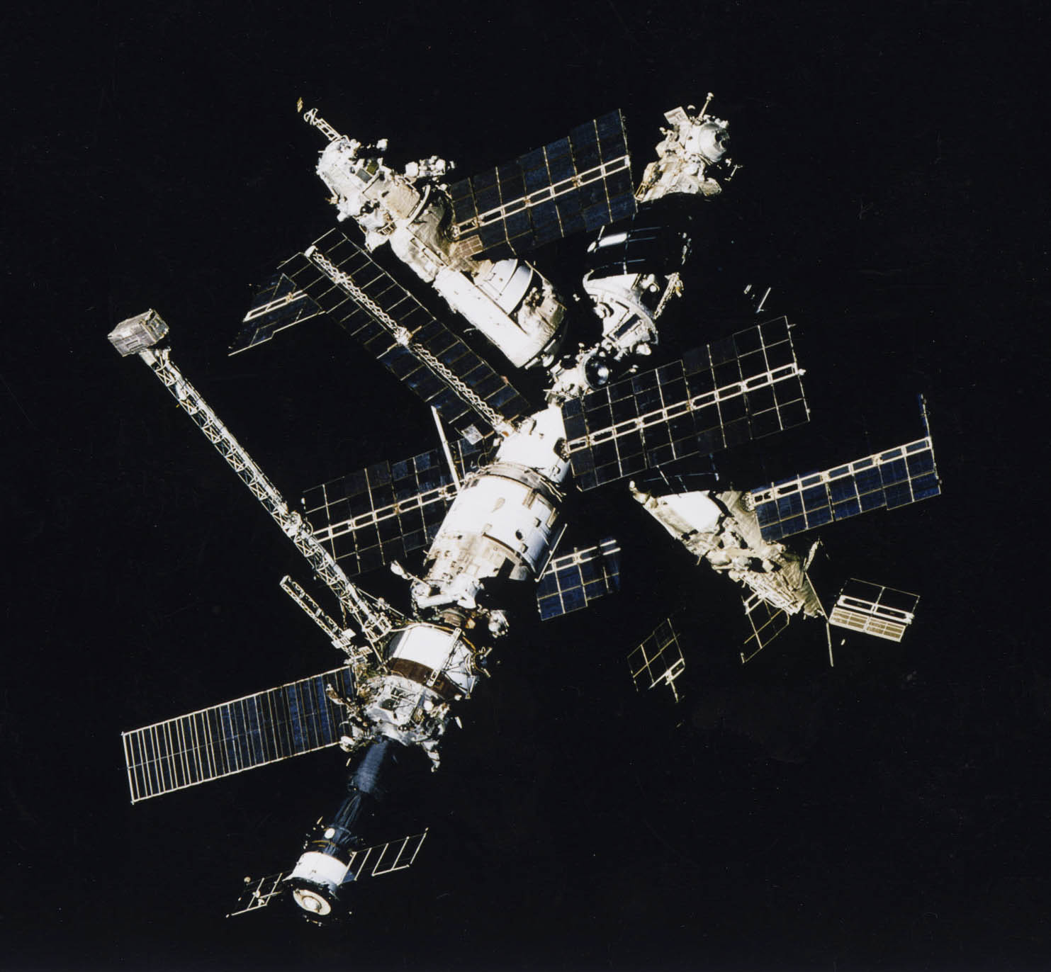 Video Mir Space Station Mir Space Station Launched