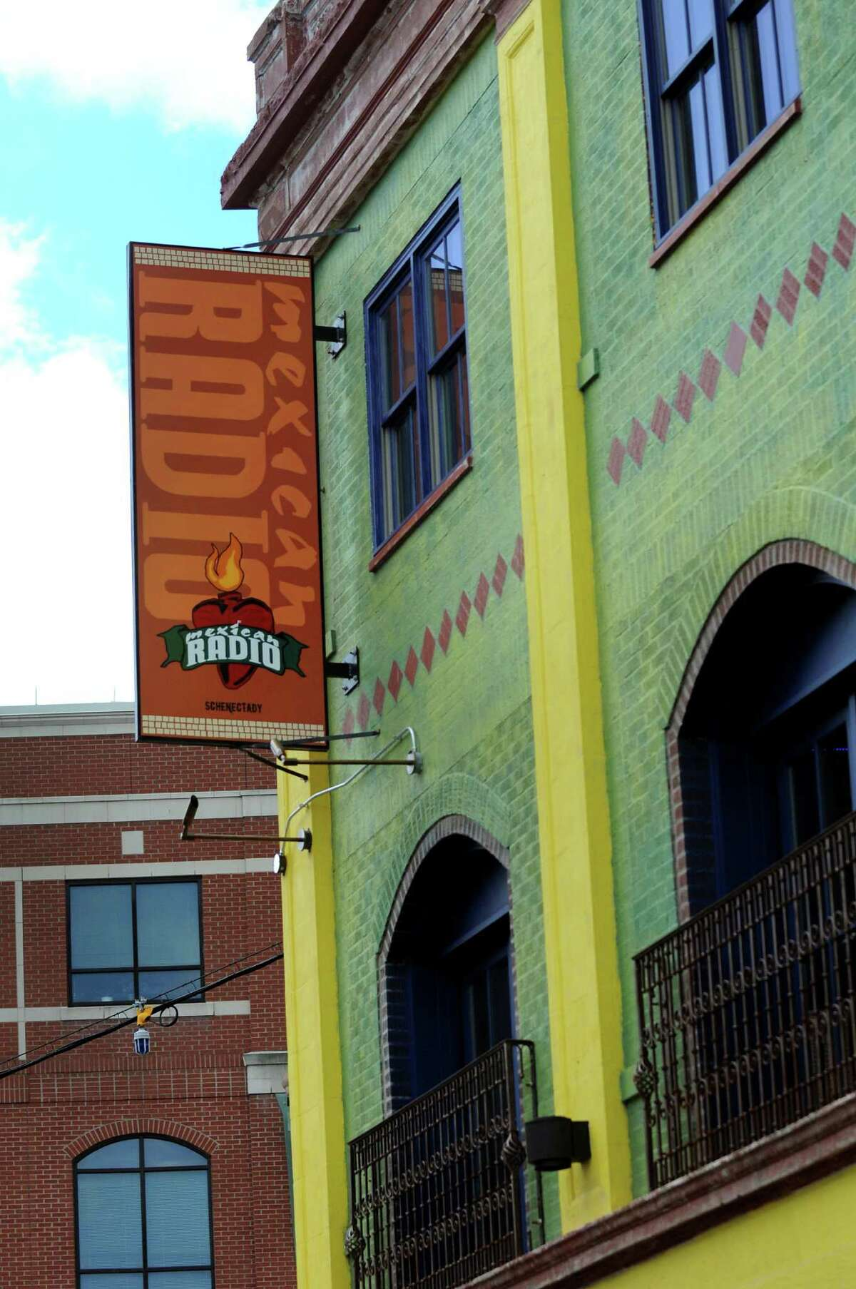 Mexican Radio on State Street and Broadway on Tuesday, May 6, 2014, in Schenectady, N.Y. (Cindy Schultz / Times Union)