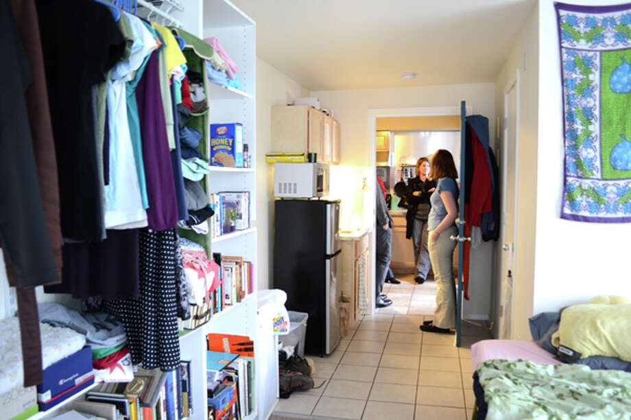 "How many micro-apartments are in Seattle?More than 700 micro units have opened in Seattle, or are part of a building that has a ""certificate of occupancy,"" which means it passed inspections. Most occupied units opened in 2012 and 2013. (Pictured: Inside a Seattle micro unit).  Photo: City Of Seattle"