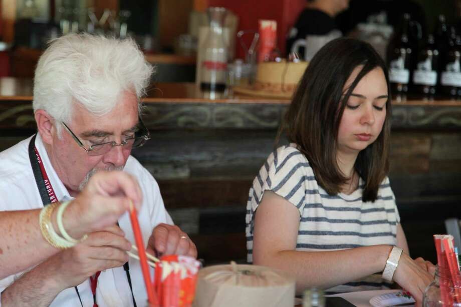 Here's a look at the foodies who got a taste, or two, during the tasting at the Tuk Tuk Taproom as part of Culinaria Festival Week. Photo: By Xelina Flores-Chasnoff , For MySA.com