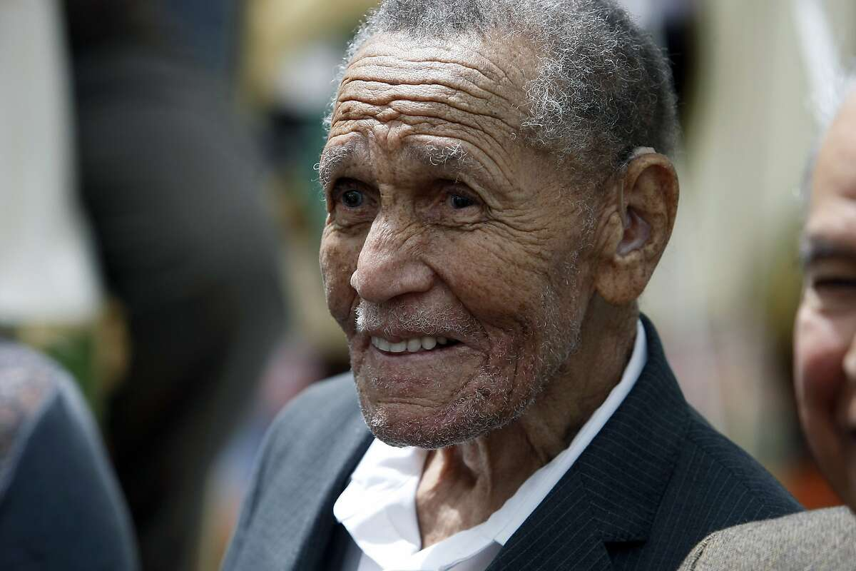Former Commissioner of the San Francisco Redevelopment Agency, LeRoy King is seen at the grand reopening ceremony for the LeRoy King Carousel at Yerba Buena Gardens in San Francisco, CA, Saturday May 17, 2014.
