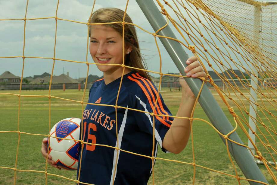 Seven Lakes' Lauren Harrington played in three regional finals during her high school career. Photo: Gary Fountain, Freelance / Copyright 2014 by Gary Fountain
