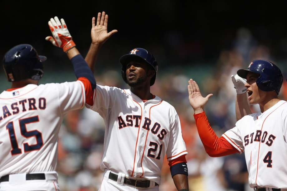 May 17: Astros 6, White Sox 5  Houston rode a four-run first inning to a victory in the second game of the series.  Record: 15-28. Photo: Karen Warren, Houston Chronicle