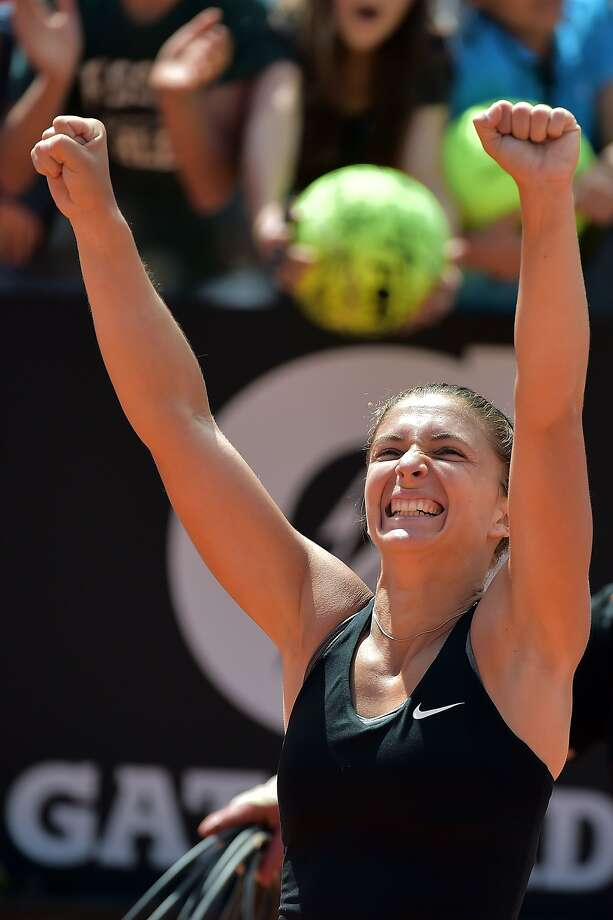 Sara Errani becomes the Italian Open's first Italian finalist in nearly 30 years. Photo: Gabriel Bouys, AFP/Getty Images