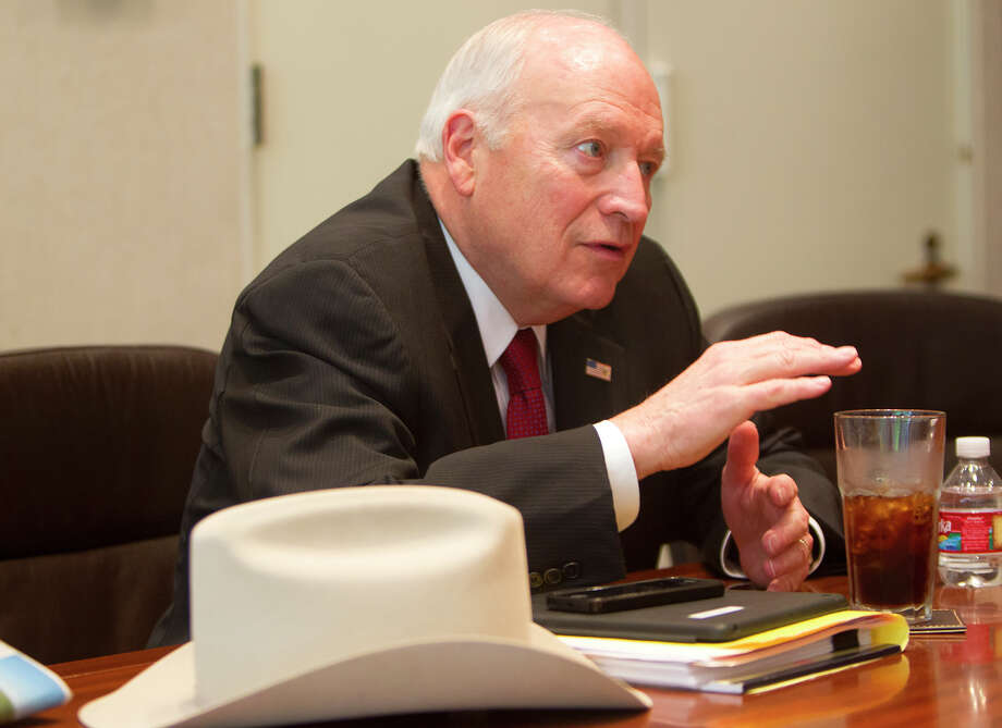 Dick Cheney says he won't be throwing his hat in the ring again. Photo: Cody Duty, Staff / © 2014 Houston Chronicle