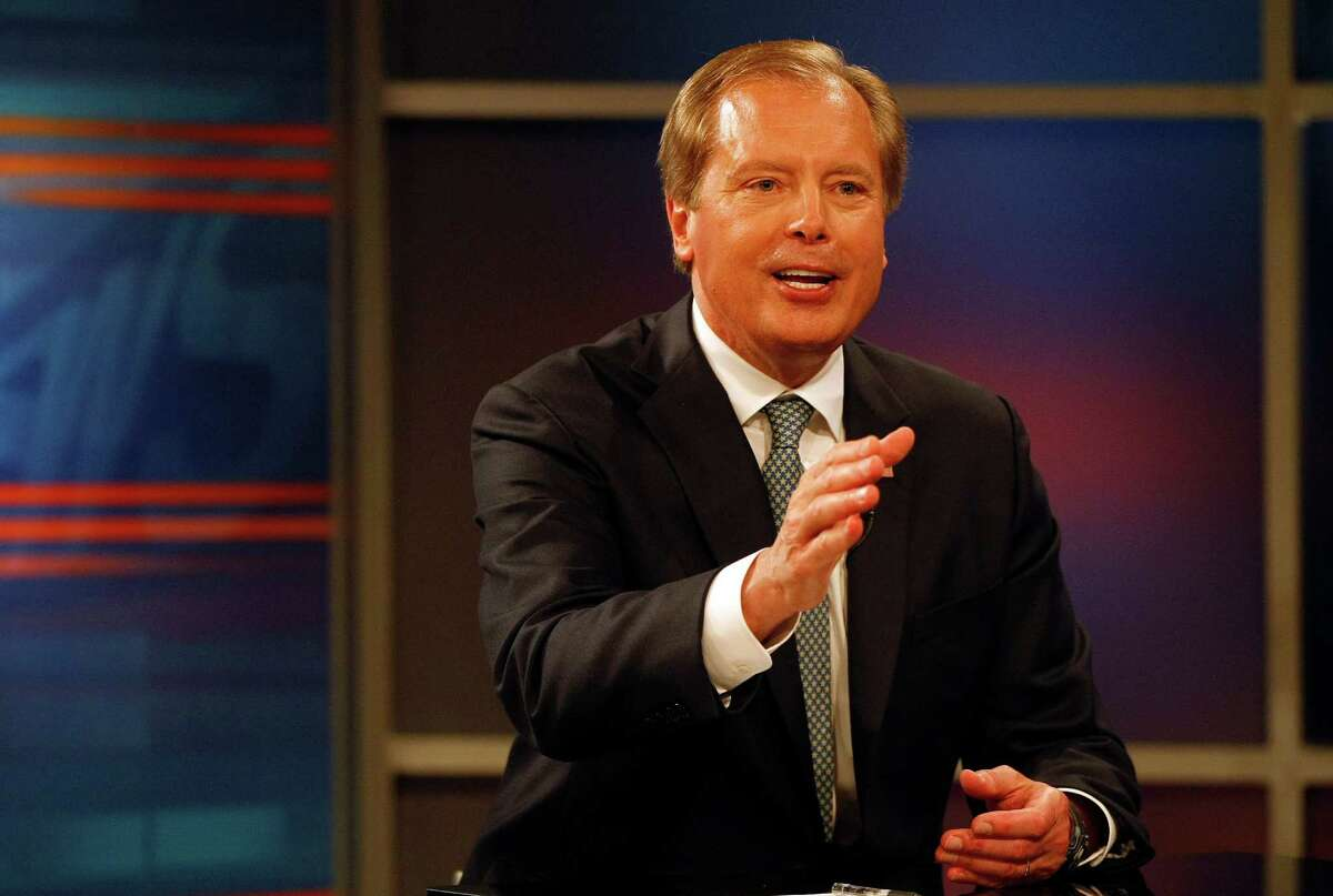 Incumbent Lt. Gov. David Dewhurst, left, faced off May 7 in Dallas against state Sen. Dan Patrick in their runoff campaign to claim the Republican spot on the ballot for lieutenant governor in November against Democratic state Sen. Leticia Van de Putte.