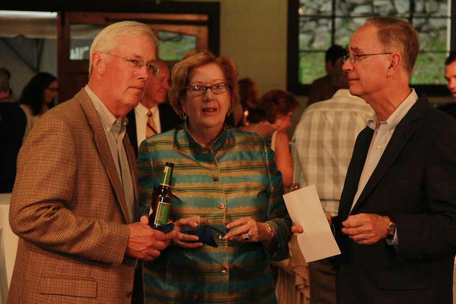 """Attendees got a private tour of the luxury cars at Dragone Classic Motorcars Showroom in Westport during """"The Science of Luxury: From Cars to Stars"""" fundraising event for the Discovery Museum in Bridgeport. The event also featured telescope viewings and an astronomy presentation, food and drink , cigars and auctions. Were you SEEN amongst the cars and stars on May 17? Photo: Derek T.Sterling, /Hearst Connecticut Media Group"""