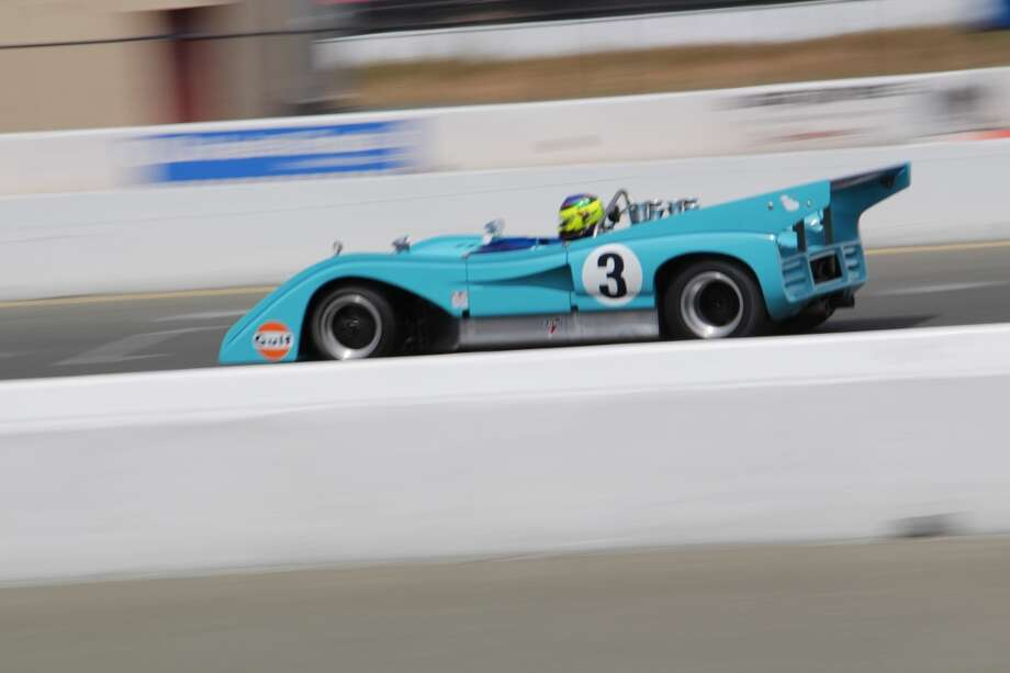 A 1972 McLaren M8F entered by Craig Pence of Boise, Idaho.