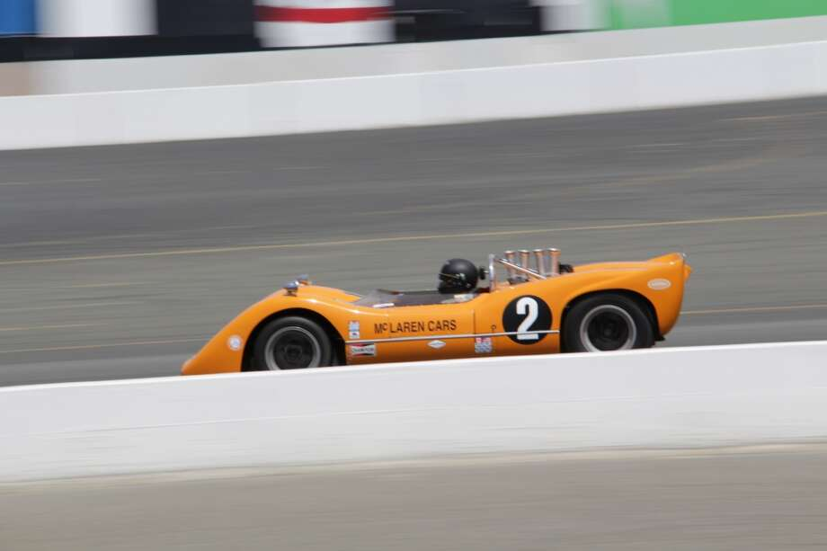A 1968 McLaren M6B entered by Robert Ryan of Avila Beach, Calif.