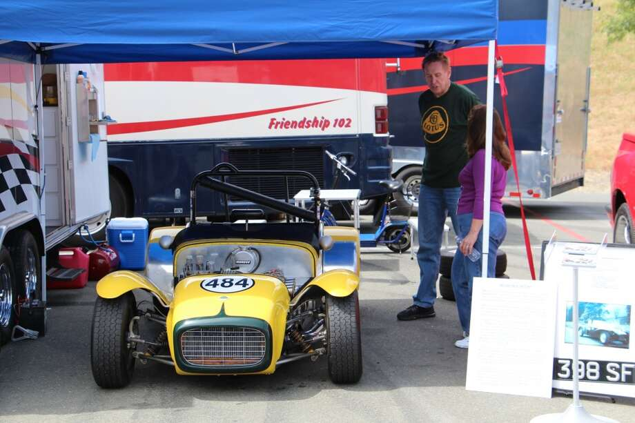 """It's quick,"" said Doug Warnecke of his 1962 Lotus Super Seven."