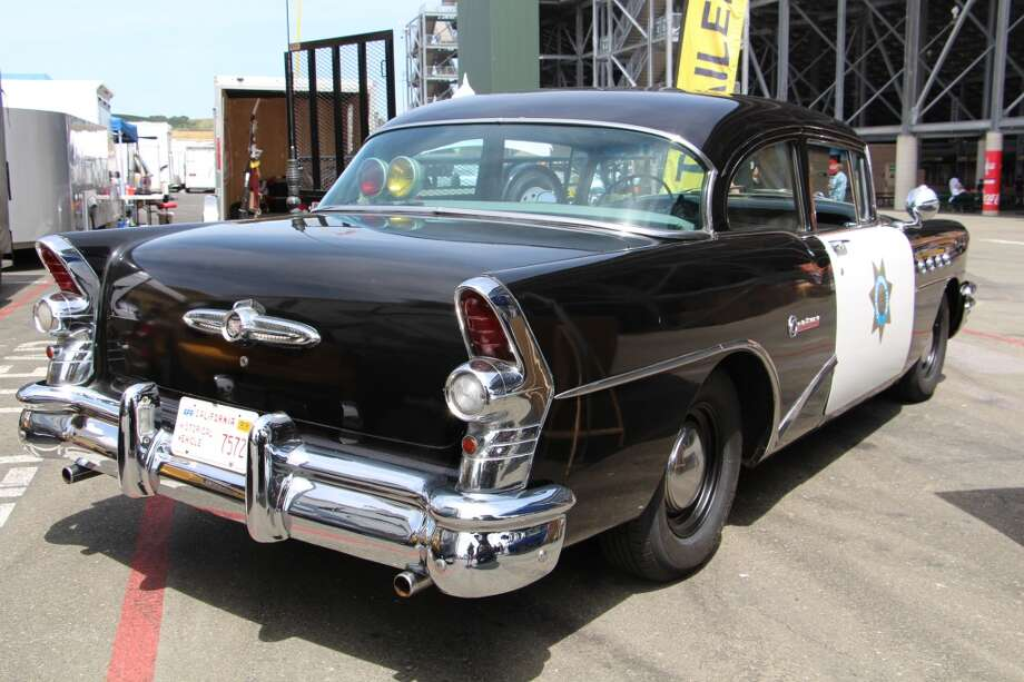 The California Highway Patrol brought a 1955 Buick CHP cruiser to park at their exhibit.