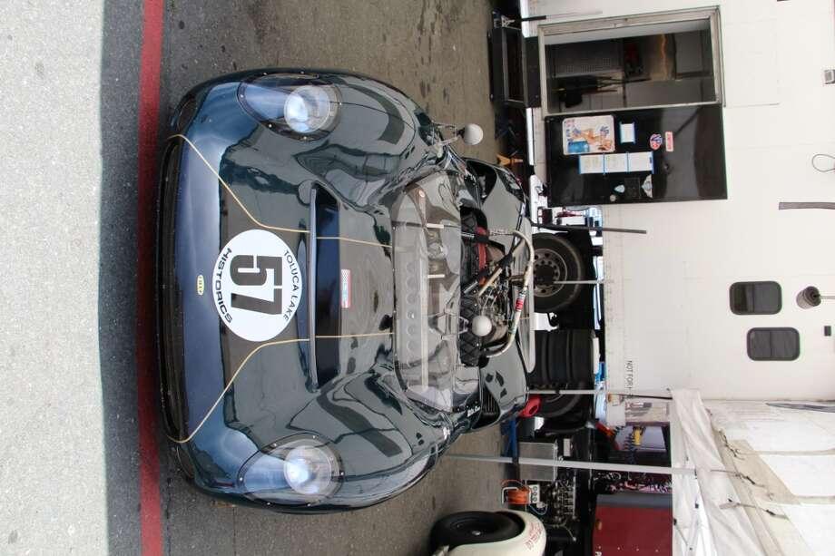 A 1966 Lola T-70. Lilo Zicron, of Sylmar, Calif.