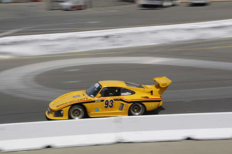 A 1976 Porsche 935 K-3 entered by Steve Schmidt of Newport Beach, Calif.