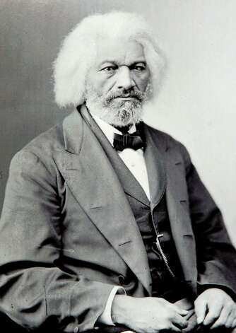 Library of Congress photo, circa 1888, of Abolitionist, Frederick Douglass. Photo: File Photo / Stamford Advocate File Photo