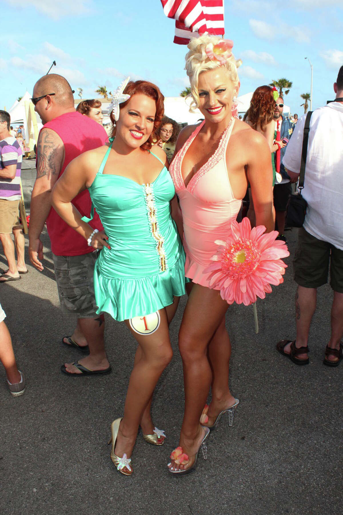 Check out the scene at the 2014 Galveston Island Beach Revue Galveston Island Beach Revue, a vintage-inspired event that was held May 16-17, is the island's official kickoff into the summer season.