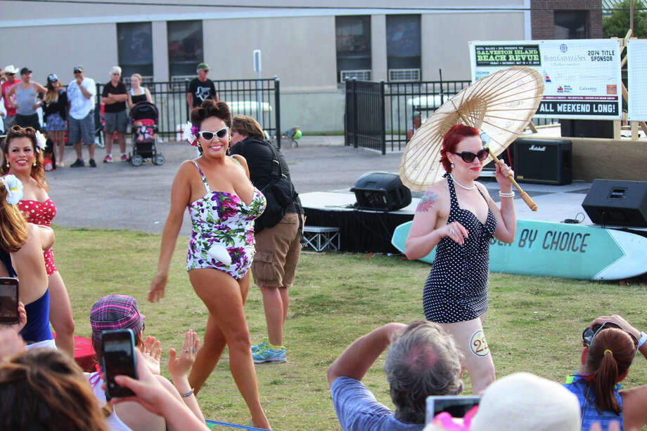 Galveston Island Beach Revue, a vintage-inspired event that was held May