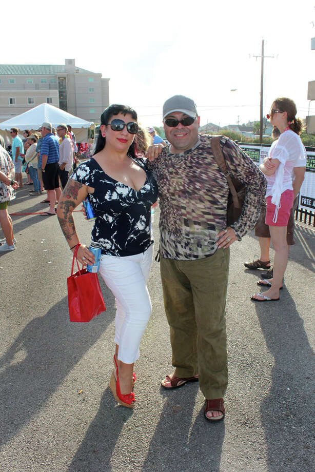 Galveston Island Beach Revue, a vintage-inspired event that was held May  16-17 this year, is the island's official kickoff into the summer  season. Photo: Jorge Valdez
