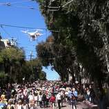 Bay to Breakers drone.