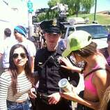 Even the fuzz gets love at Bay to Breakers.