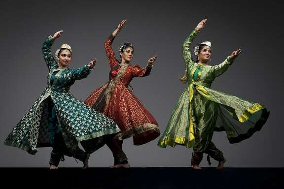 Part of the 2014 San Francisco Ethnic Dance Festival . Chitresh Das Dance Company  Labonee Mohanta, Rina Mehta, Antara Bhardwaj photo by Margo Moritz