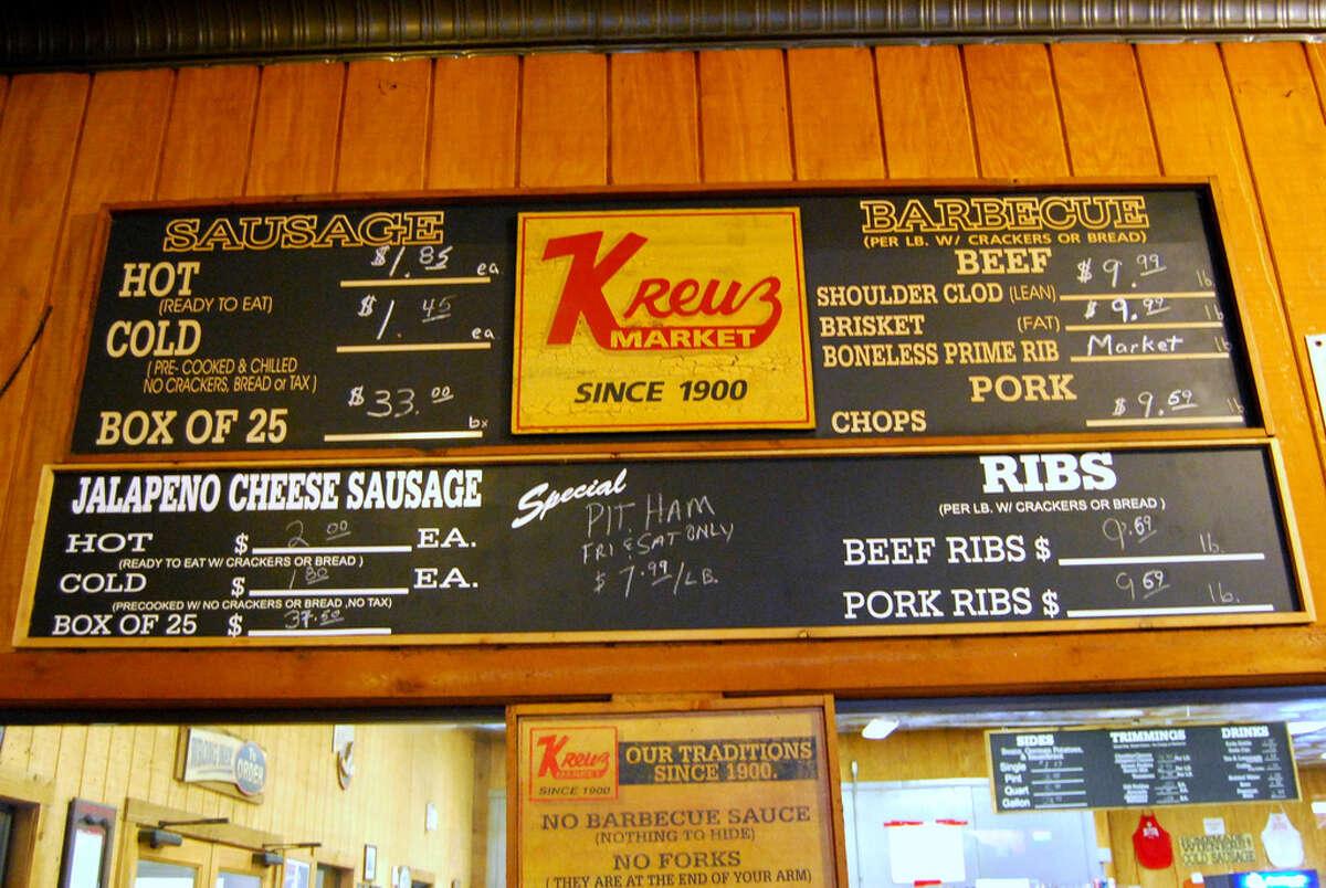 Kreuz Market in Lockhart