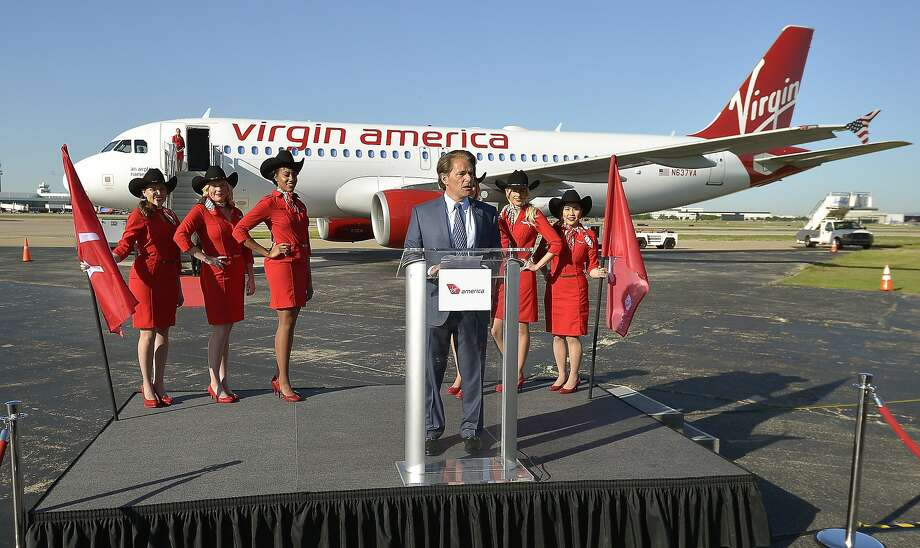 Virgin America President and CEO David Cush speaks at a news conference at Dallas' Love Field. Executives say the airline's public offering can succeed if it's planned effectively. Photo: Max Faulkner, McClatchy-Tribune News Service