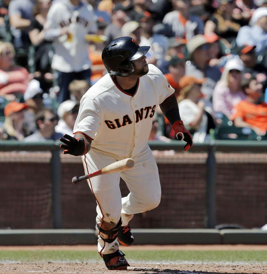 Pablo Sandoval, on a hitting tear lately, has meant so much to the fabric of a tight-knit San Francisco team over the years. Photo: Carlos Avila Gonzalez, The Chronicle