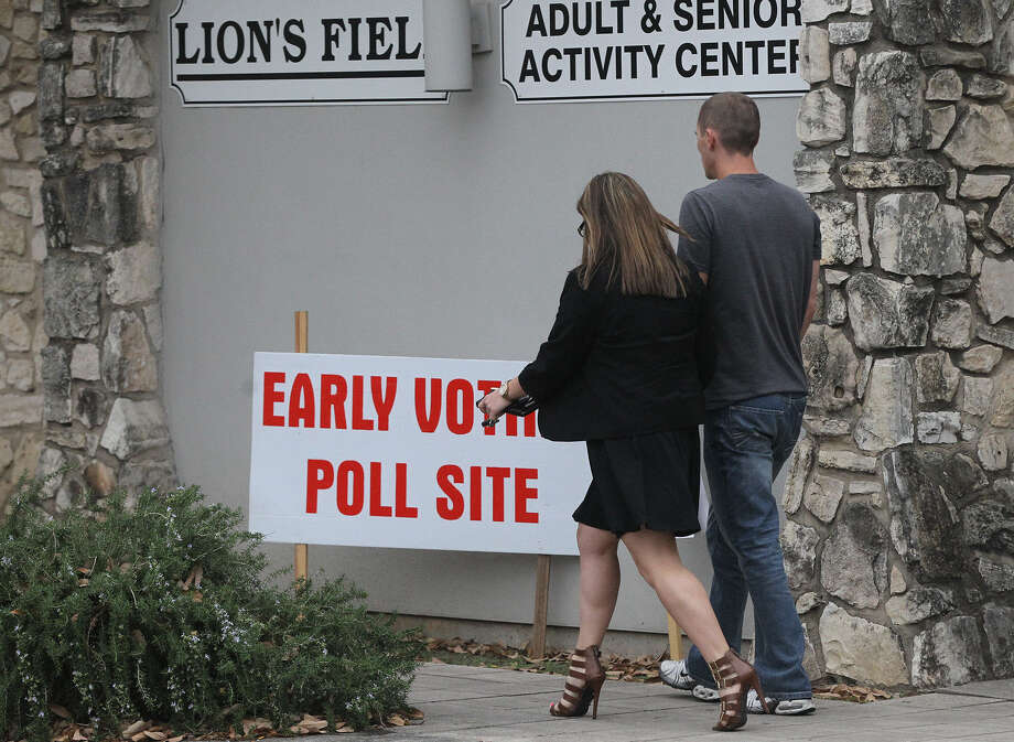 Lion's Field, located at 2809 Broadway, is one of 32 sites that will have early voting before the May 27 joint primary election. Photo: John Davenport / San Antonio Express-News / ©San Antonio Express-News/Photo may be sold to the public