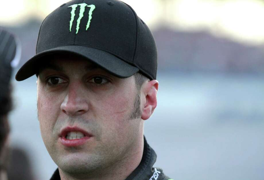 TALLADEGA, AL - MAY 02:  Sam Hornish Jr., driver of the #54 Monster Energy Toyota, looks on during qualifying for the NASCAR Nationwide Series Aaron's 312 at Talladega Superspeedway on May 2, 2014 in Talladega, Alabama.  (Photo by Jerry Markland/Getty Images) ORG XMIT: 488069687 Photo: Jerry Markland / 2014 Getty Images