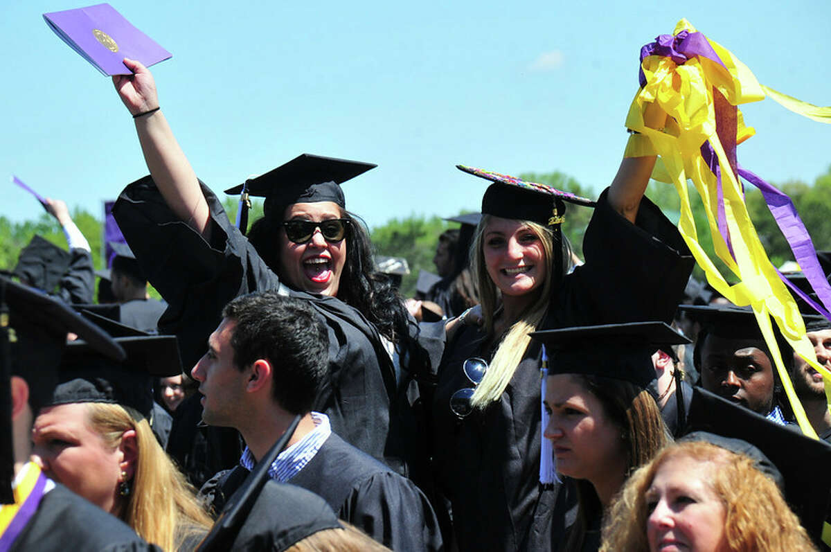 Were you seen at the University at Albany's undergraduate commencement ceremony on Sunday, May 17, 2014