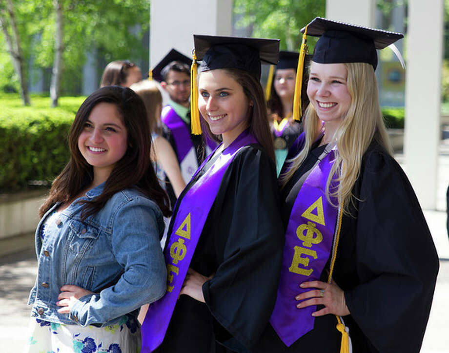 Were you seen at the University at Albany's undergraduate commencement ceremony on Sunday, May 17, 2014 Photo: University At Albany Photography