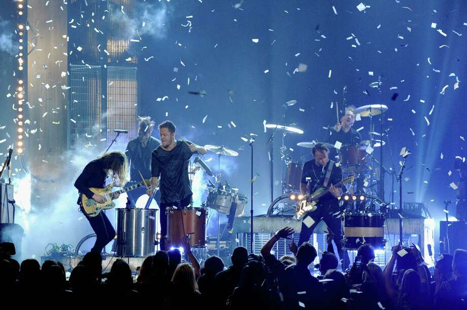 Imagine Dragons performs onstage during the 2014 Billboard Music Awards at the MGM Grand Garden Arena on May 18, 2014 in Las Vegas, Nevada. Photo: Ethan Miller, Getty Images / 2014 Getty Images
