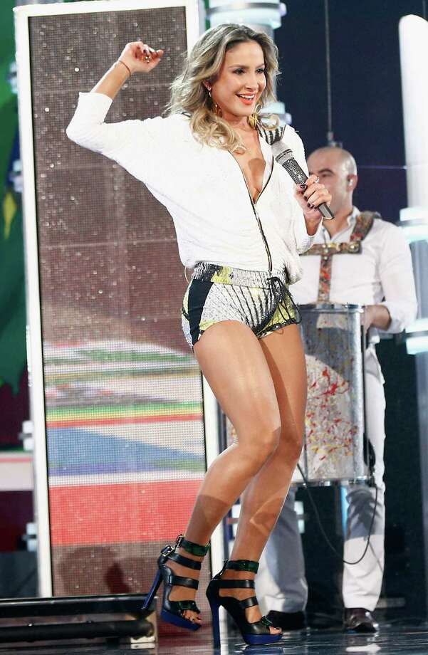 Recording artist Cláudia Leitte performs onstage during the 2014 Billboard Music Awards at the MGM Grand Garden Arena on May 18, 2014 in Las Vegas, Nevada. Photo: Christopher Polk/Billboard Awards 2014, Getty Images / 2014 Christopher Polk/Billboard Awards 2014