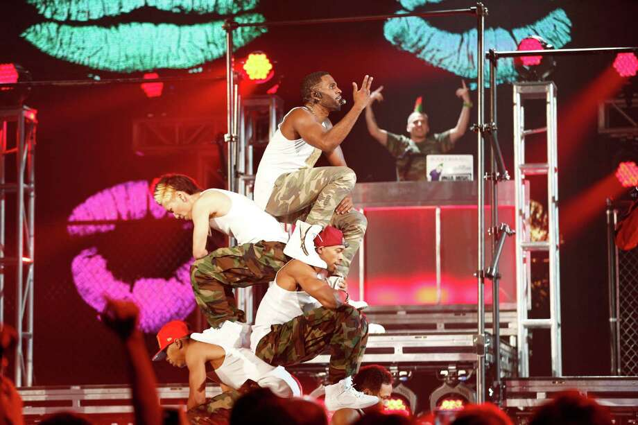 Recording artist Jason Derulo performs onstage during the 2014 Billboard Music Awards at the MGM Grand Garden Arena on May 18, 2014 in Las Vegas, Nevada. Photo: Christopher Polk/Billboard Awards 2014, Getty Images / 2014 Christopher Polk/Billboard Awards 2014