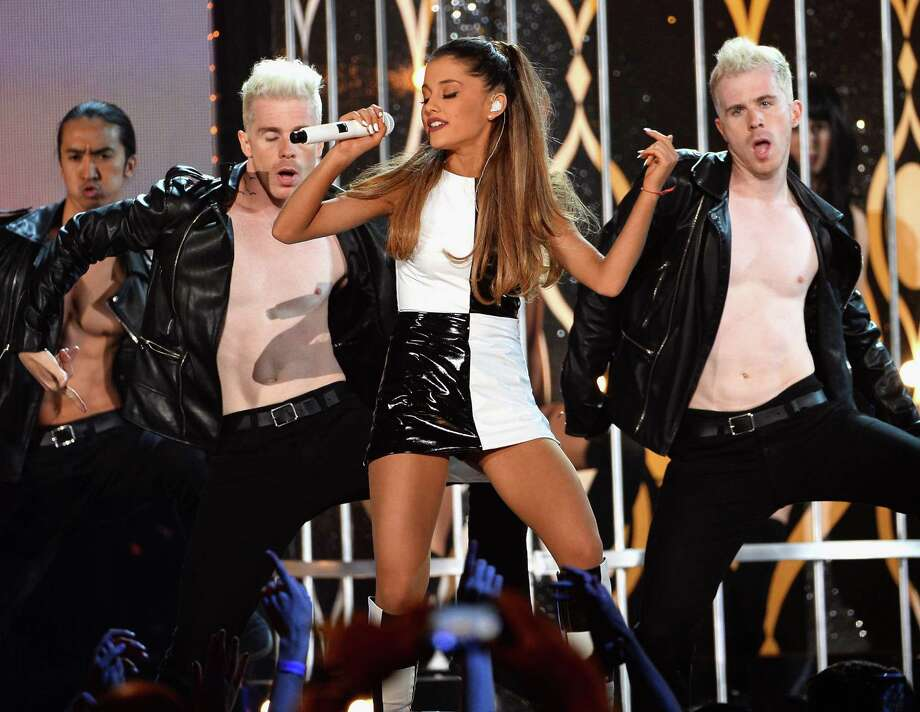 Recording artist Ariana Grande performs onstage during the 2014 Billboard Music Awards at the MGM Grand Garden Arena on May 18, 2014 in Las Vegas, Nevada. Photo: Ethan Miller, Getty Images / 2014 Getty Images