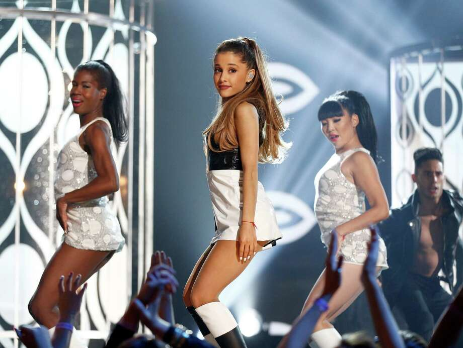 Recording artist Ariana Grande performs onstage during the 2014 Billboard Music Awards at the MGM Grand Garden Arena on May 18, 2014 in Las Vegas, Nevada. Photo: Christopher Polk/Billboard Awards 2014, Getty Images / 2014 Christopher Polk/Billboard Awards 2014
