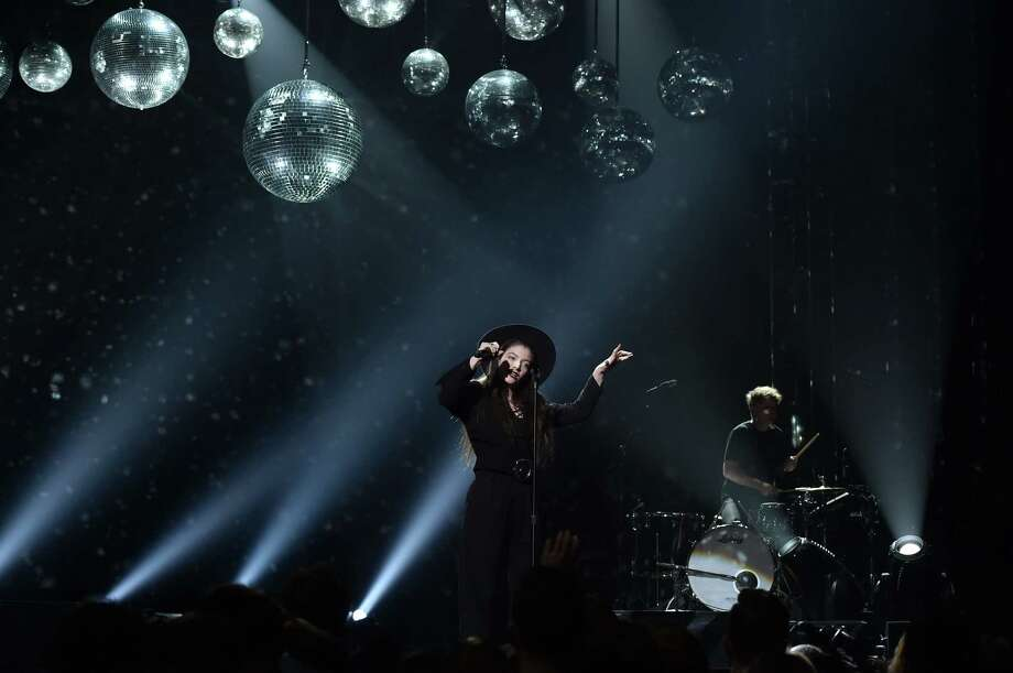 Singer-songwriter Lorde performs onstage during the 2014 Billboard Music Awards at the MGM Grand Garden Arena on May 18, 2014 in Las Vegas, Nevada. Photo: Kevin Winter/Billboard Awards 2014, Getty Images / 2014 Kevin Winter/Billboard Awards 2014