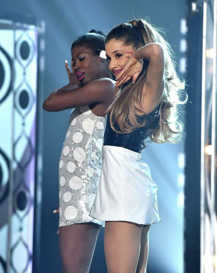 Recording artist Ariana Grande performs onstage during the 2014 Billboard Music Awards at the MGM Grand Garden Arena on May 18, 2014 in Las Vegas, Nevada. Photo: Kevin Winter/Billboard Awards 2014, Getty Images / 2014 Kevin Winter/Billboard Awards 2014