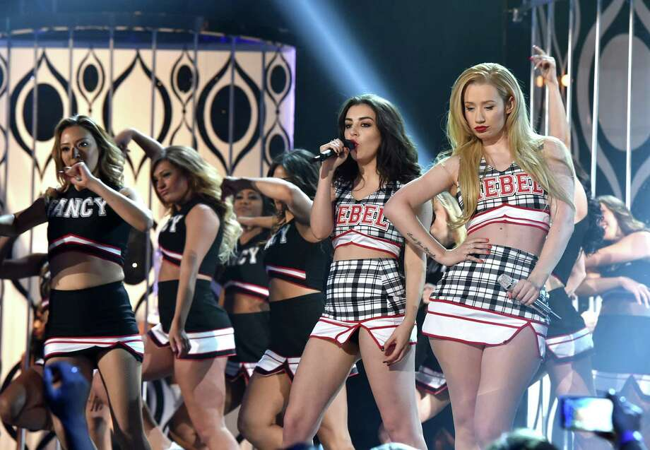 Recording artists Charli XCX (L) and Iggy Azalea perform onstage during the 2014 Billboard Music Awards at the MGM Grand Garden Arena on May 18, 2014 in Las Vegas, Nevada. Photo: Kevin Winter/Billboard Awards 2014, Getty Images / 2014 Kevin Winter/Billboard Awards 2014