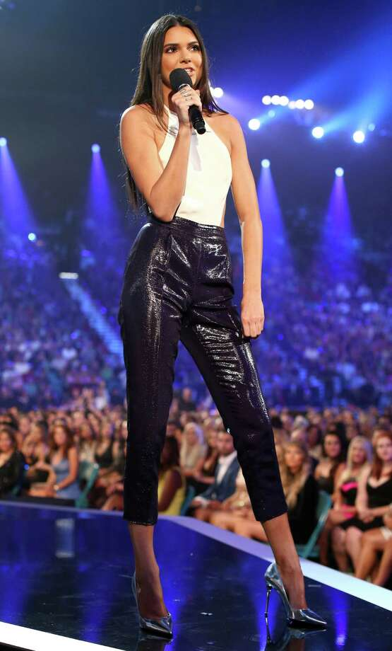 Model Kendall Jenner speaks onstage during the 2014 Billboard Music Awards at the MGM Grand Garden Arena on May 18, 2014 in Las Vegas, Nevada. Photo: Christopher Polk/Billboard Awards 2014, Getty Images / 2014 Christopher Polk/Billboard Awards 2014