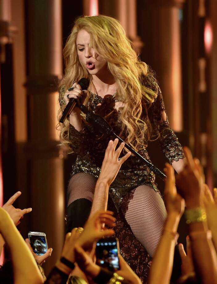 Recording artist Shakira performs onstage during the 2014 Billboard Music Awards at the MGM Grand Garden Arena on May 18, 2014 in Las Vegas, Nevada. Photo: Kevin Winter/Billboard Awards 2014, Getty Images / 2014 Kevin Winter/Billboard Awards 2014