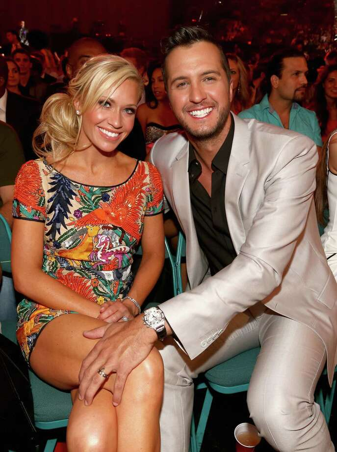 Caroline Bryan (L) and musician Luke Bryan attend the 2014 Billboard Music Awards at the MGM Grand Garden Arena on May 18, 2014 in Las Vegas, Nevada. Photo: Christopher Polk/Billboard Awards 2014, Getty Images / 2014 Christopher Polk/Billboard Awards 2014