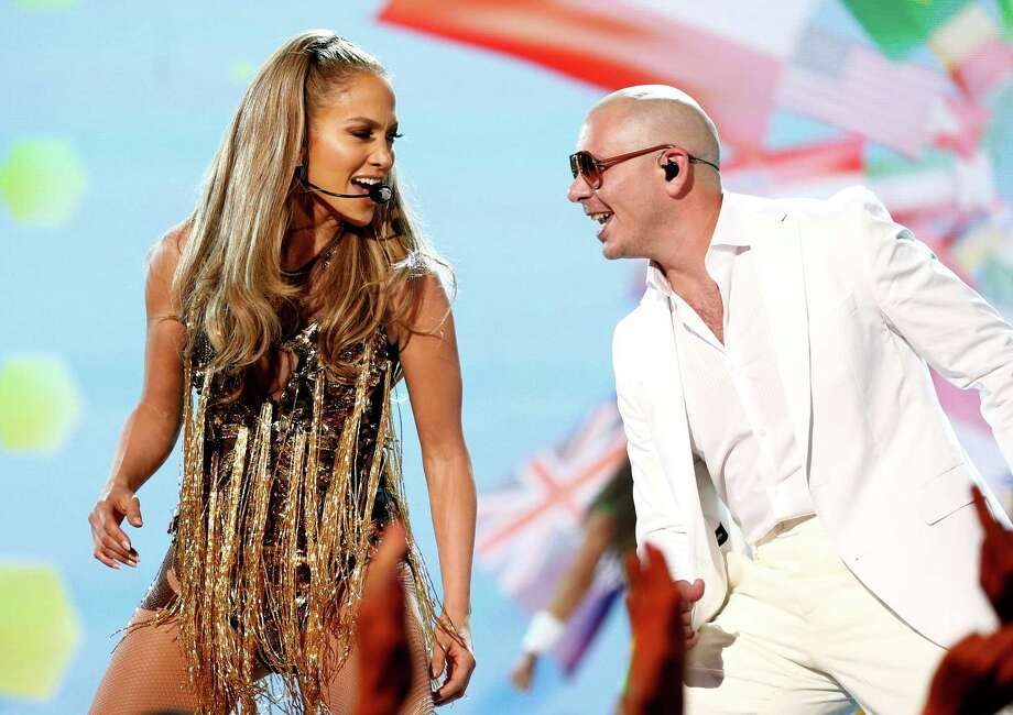 Recording artists Jennifer Lopez (L) and Pitbull perform onstage during the 2014 Billboard Music Awards at the MGM Grand Garden Arena on May 18, 2014 in Las Vegas, Nevada. Photo: Christopher Polk/Billboard Awards 2014, Getty Images / 2014 Christopher Polk/Billboard Awards 2014