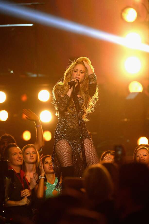 LAS VEGAS, NV - MAY 18:  Recording artist Shakira performs onstage during the 2014 Billboard Music Awards at the MGM Grand Garden Arena on May 18, 2014 in Las Vegas, Nevada.  (Photo by Ethan Miller/Getty Images) Photo: Ethan Miller, Getty Images