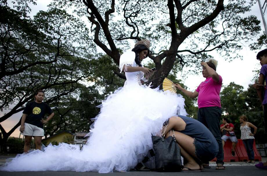 Ah ... well, here's your problem:A participant in a procession sponsored by the Association of Transgender 