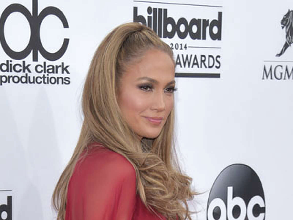 Jennifer Lopez arrives at the Billboard Music Awards at the MGM Grand Garden Arena on Sunday, May 18, 2014, in Las Vegas.