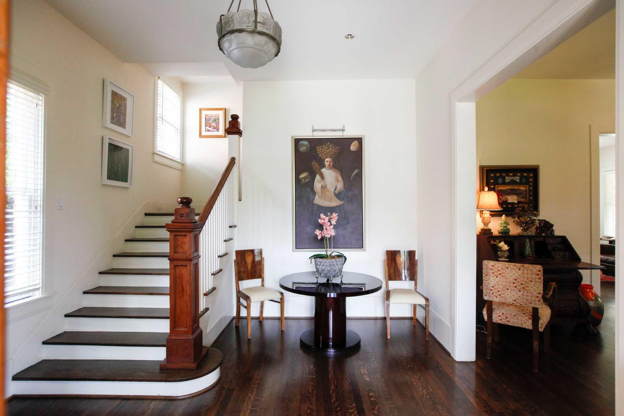 Jaguar Houston Central >> This large Montrose home is an art deco delight - Houston Chronicle