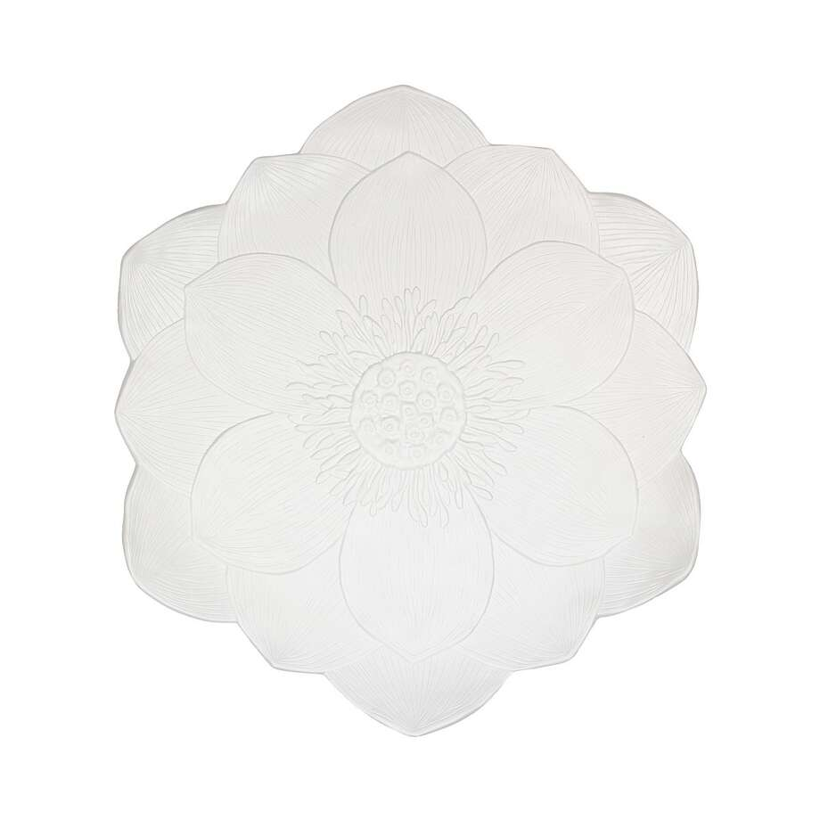 MADHOUSE by Michael Aram lotus melamine round platter; $30 at Macy's / ONLINE_YES