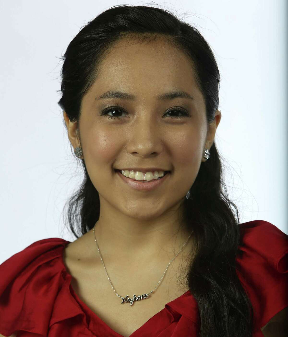 """Nizhoni Begay, 16 School: Incarnate Word High School Honors: The young singer was selected as one of 20 artists in the state by the Texas Commission on the Arts to join its Young Masters Program this year. In 2013, she was part of the National Hispanic Institute's Great Debate program and was awarded All-State Orator honors. About her: The Tucson, Arizona, native has been performing mariachi music since she was 7 years old. """"I love mariachi so much,"""" she says. """"It's so powerful. It creates such an emotional connection."""" She's a member of the Mariachi Corazón de San Antonio, an all-star high school mariachi group that represents the city of San Antonio, and she's mentored younger mariachi students. Her mariachi skills earned her first-place honors in the high school vocal competition in the prestigious Mariachi Vargas Extravaganza in 2012."""