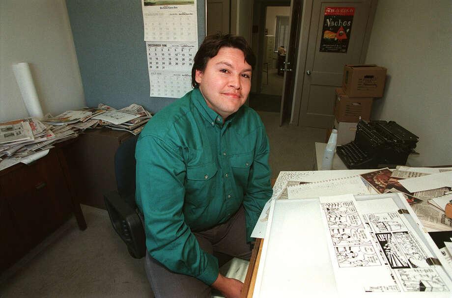 Leo Garza Dec 12, 1996 Photo: MORRIS GOEN, EXPRESS-NEWS FILE PHOTO / SAN ANTONIO EXPRESS-NEWS